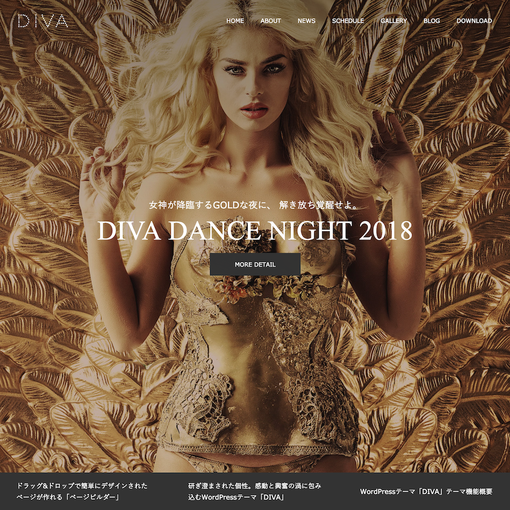 TCD DIVA WordPress
